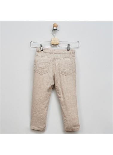 Panço Panço Keten Pantolon Erkek Çocuk Bej Bej